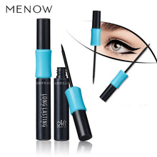 Load image into Gallery viewer, Menow Brand Professional Eyes Make Up Liner Waterproof Easy to Wear Pigment Black Long Lasting Liquid Eyeliner Makeup Cosmetics