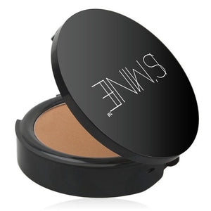 P1ISMINE Women Makeup Cosmetic Pressed Powder Face Foundation Mineral Pressed Face Powder Concealer Base Makeup Performance Wear