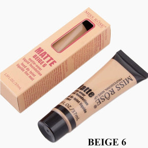 New Women Nude Makeup Long Lasting Waterproof Facial Makeup Foundation Base Liquid Cream  Moisturizer Face Cosmetic Concealer