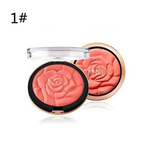 3D Rose Blush Powder Powder Makeup Palette
