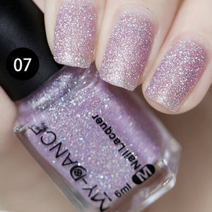 Matte Nail Polish Women Nail Beauty DIY Art Portable Long Lasting Non-toxic Manicure Fashion Makeup Smoothie Nail Polish FM88
