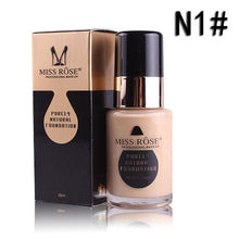 Load image into Gallery viewer, 30ML glass bottle foundation repairing nourishing concealer foundation makeup