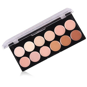 Acne Print Natural Professional Concealer Palettes 12 Colors makeup Foundation Facial Face Cream  concealer