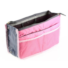 Load image into Gallery viewer, Waterproof Lady Women Cosmetic Makeup Bag Organizer Travel Insert Handbag