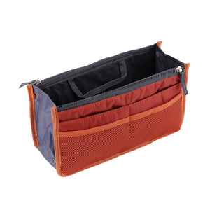 Waterproof Lady Women Cosmetic Makeup Bag Organizer Travel Insert Handbag