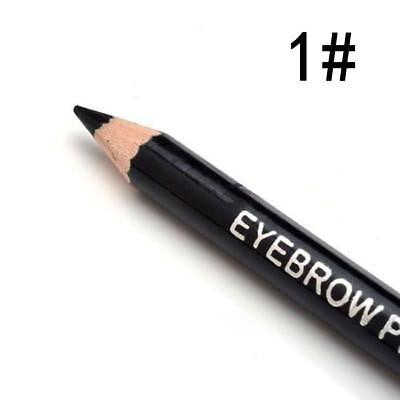 1 PC Perfect Waterproof Longlasting Make Up Tool Eyeliner Eyebrow Eye Brow Pencil Brush