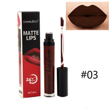 Load image into Gallery viewer, Sexy Lipstick Liquid Color Nude Matte Pigment Cosmetic Long lasting Red Velvet Purple Matte Lip Gloss Makeup Beauty