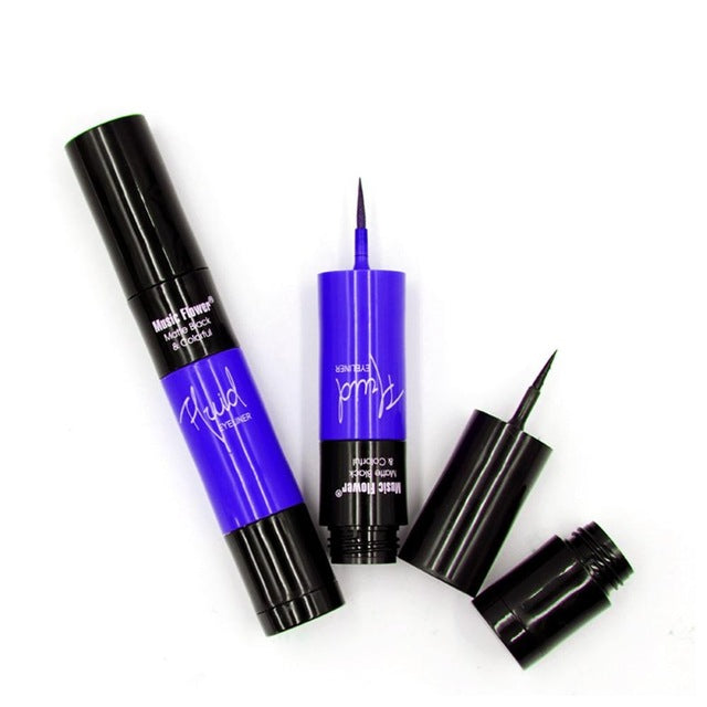 Smooth Liquid Eyeliner Pen Long Lasting Quick Dry Waterproof Beauty Makeup Cosmetic Tool Sweat-proof Eye Line Pen