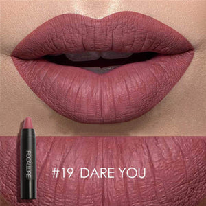 sexy lipstick waterproof lip pencil pigment velvet Brown Nude Matte Lipstick Lip