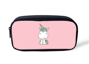 NOISYDESIGNS Women MakeUp Case Animal Mysterious Unicorn Bag make up Bag Makeup Kit School Children unicorn bag women Case
