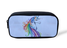 Load image into Gallery viewer, NOISYDESIGNS Women MakeUp Case Animal Mysterious Unicorn Bag make up Bag Makeup Kit School Children unicorn bag women Case
