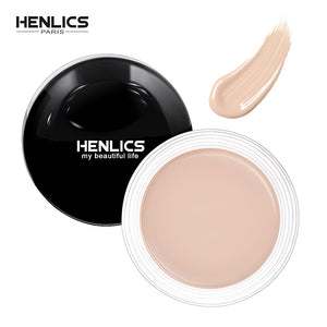 HENLICS 10g Face Concealer Perfect Cover Concealer Cream 3 Colors Oil Control Face Eyes Contouring