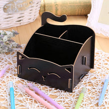Load image into Gallery viewer, hoomall  Cosmetic Organizer Wood Storage Wooden Storage Box Jewelry Container Makeup Organizer Case Handmade DIY Assembly Boxes