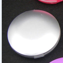 Load image into Gallery viewer, Fashion Portable Vanity Mirror Lightweight Travel Metal Round Foldable Makeup Mirror for Hand Held for Women Girls