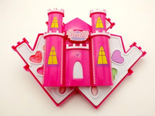 Load image into Gallery viewer, 2018 Children's Makeup Cosmetic box castle shaped Safety pretend play makeup set  Non-toxic for kids girl