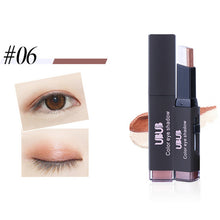 Load image into Gallery viewer, Eye Shadow Stick Eyes Beauty Cosmetic Eyeshadow Double Color Stereo Gradient Velvet Shimmer Eye Shadow Cream Pen Eye Makeup Tool