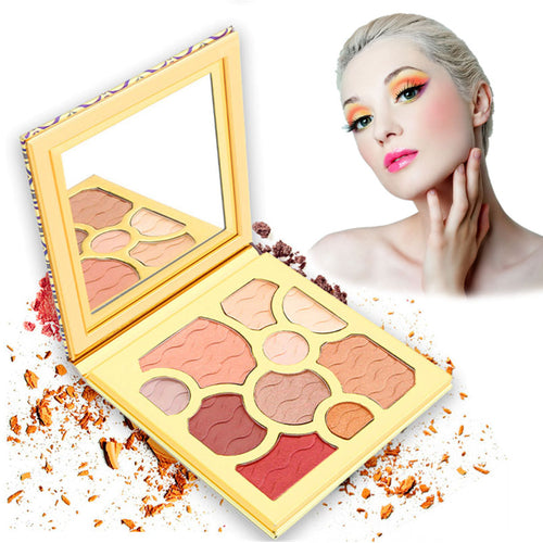 10 Colors Eyes Beauty Matte Eye shadow Makeup Palette Natural Makeup Eye Shadow Powder Eyes Makeup Cosmetic