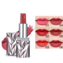 Load image into Gallery viewer, Novo Jewel Queen Velvet Matte Lipstick Moisturizer Lip Stick Nude Waterproof Batom Makeup Beauty Cosmetic