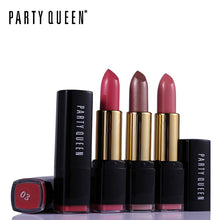 Load image into Gallery viewer, Party Queen 1PCS Rouge Velvet Matte Lipstick Ultra Nourish Smooth Batom Makeup Colorful Charmed Waterproof Shimmer Lips Cosmetic