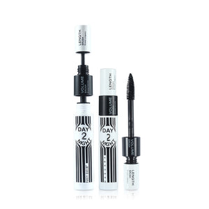 Limited Promotions Mascara Makeup Waterproof Extension Quick Dry Lengthening + Extra Black Brush Eyelashes Curly Volume Set