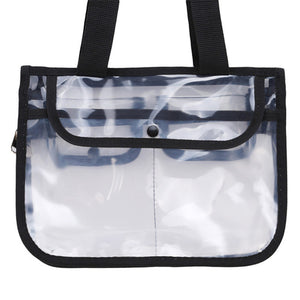 LKEEP Transparent Bag PVC Waterproof Large Cosmetic Bag Women Travel Organizer Beauty Products Toiletry Makeup Bag