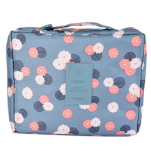 Load image into Gallery viewer, Hoomall 1PC Women Makeup Bag Girls Wash Bags High Capacity Storage Bag Makeup Organizer Barrel Shaped Travel Cosmetic Bag