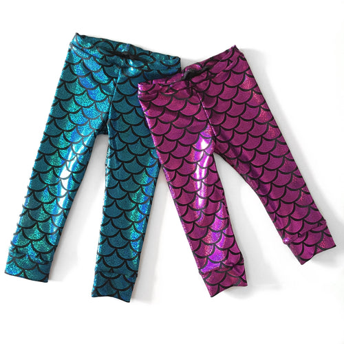 Toddler Glitter Mermaid Leggings