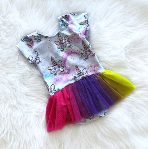 Unicorn Dreams Tutu Leotard