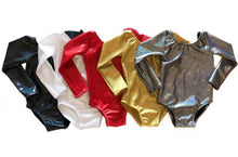 Metallic Holiday Leotard 7+ Colors