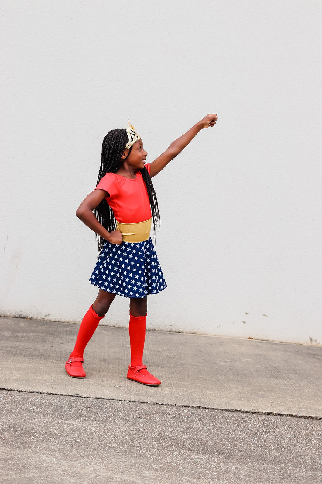 Wonder Woman Skater Skirt