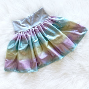 Rainbow Unicorn Play Skirt