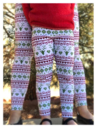 Fair Isle Christmas Leggings & Joggers