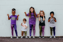 Halloween Striped Leggings (Mix N Match)