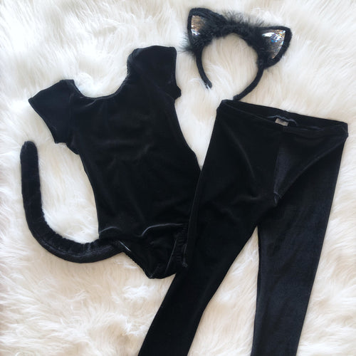 Black Cat Leotard