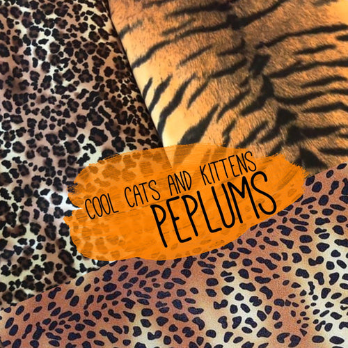 Big Cat Peplum