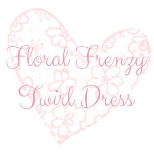 Floral Frenzy Twirl Dress
