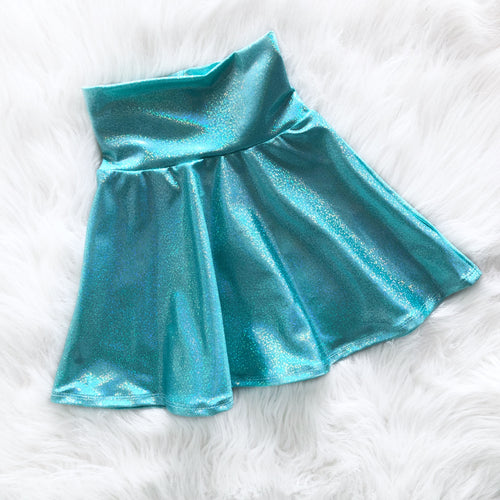 Aquamarine Skater Skirt