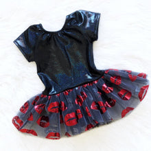 Black Lips Tutu Leotard
