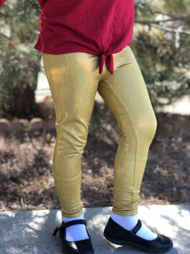 Metallic Holiday Leggings 7+ colors