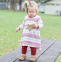 Fair Isle Christmas Dress