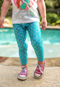 Frozen Mermaid Leggings