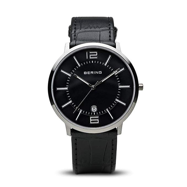 Bering Time 11139-409 Classic Collection Watch with Calfskin Band