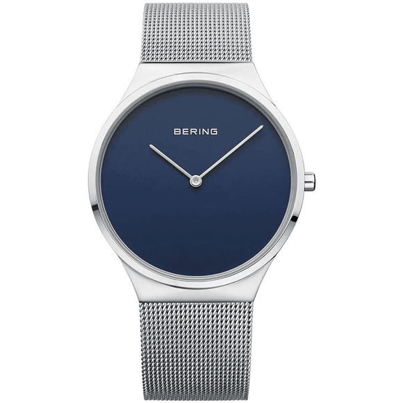 Bering Mens Classic Mesh Blue Dial 12138-007 Watch
