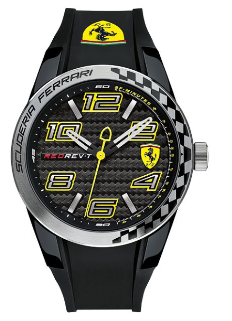 Scuderia Ferrari Analog Red Dial Men's Watch