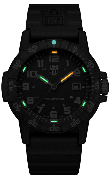 Lumi Nox Leatherback SEA Turtle Giant XS.0323.L Watch