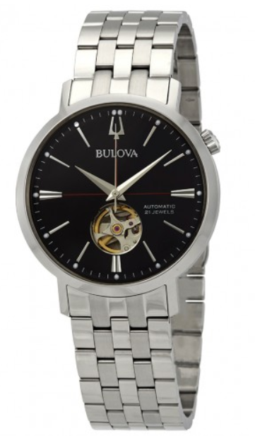 Bulova Men's Japanese Automatic Stainless Steel 96A199 Watch