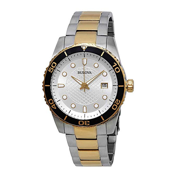 Bulova Men's Two Tone Diver 98A198 Watch