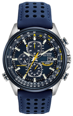 Citizen World Chronograph A-T AT8020-03L Watch