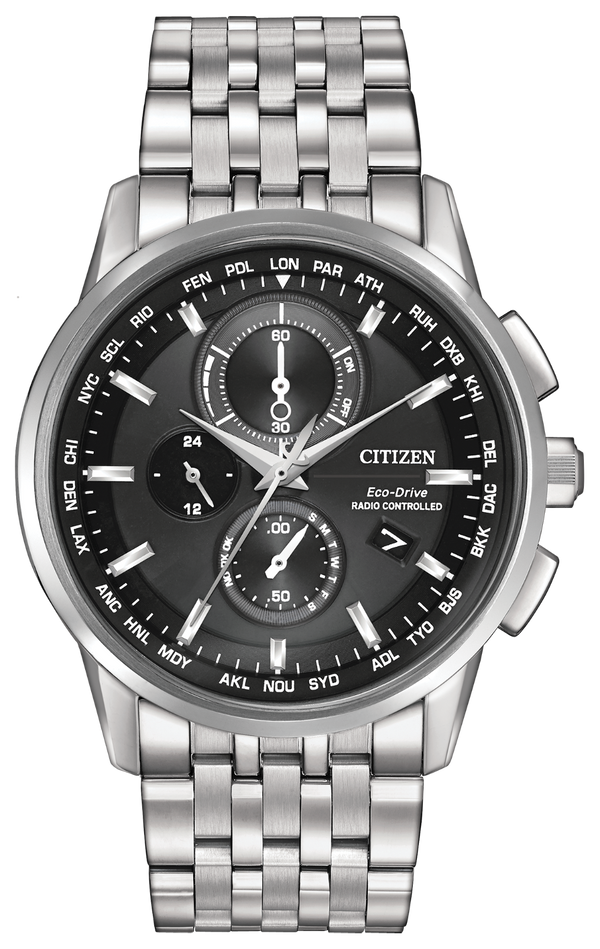 Citizen World Chronograph A-T AT8110-53E Watch