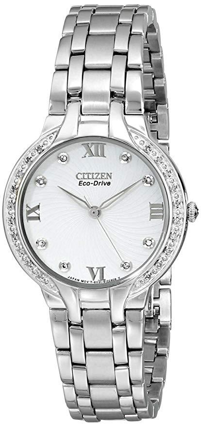 Citizen Watches EM0120-58A Eco-Drive Bella Diamond Accented Watch